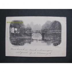Utrecht 1899 - Knuppelbrug - voorloper