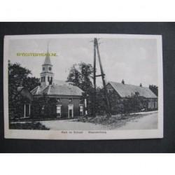 Waardenburg 1928 - kerk en school
