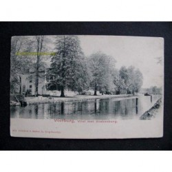 Voorburg ca. 1900 - Vliet met Hoekenburg