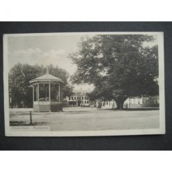Hilvarenbeek 1915 - Marktplein met kiosk