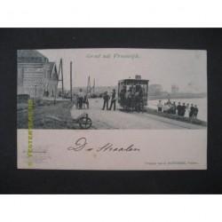Vreeswijk 1900 - groet uit - en paardentram