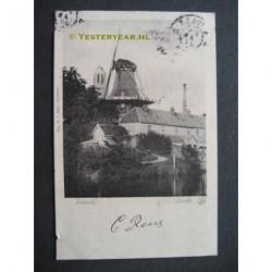 Zwolle 1902 - Eekwal met molen