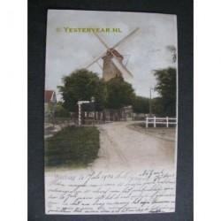 Voorburg 1902 - Achterweg en molen