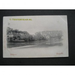 Zwolle ca. 1900 - IJsbaan