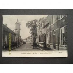 Roosendaal 1908 - Nispenschestraat met watertoren