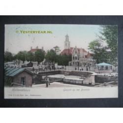 Hellevoetsluis 1905 - gezicht op Het Baantje
