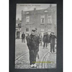 Katwijk aan Zee 1930 - de omroeper