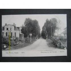 Soeren ca. 1910 - overweg bij het kanaal