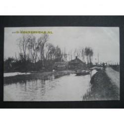 Tienhoven ca. 1910 - aan de plassen te Tienhoven