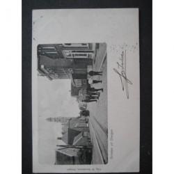 Dongen 1900 - groeten uit Dongen - stoomtram
