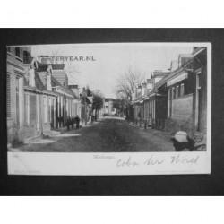 Wolvega 1901 - dorpsstraat