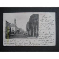 Kaatsheuvel 1909 - Hoofdstraat met gemeentehuis