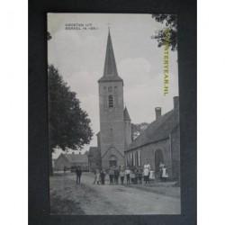 Berkel ca. 1910 - groeten uit - kerk