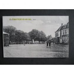Coevorden ca. 1910 - Markt