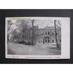 Doorn ca. 1900 - Gemeentehuis en Postkantoor