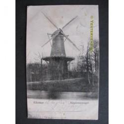 Alkmaar 1902 - Kennermersingel met molen