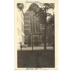 Amsterdam ca. 1935 - Grote Kerk - fotokaart