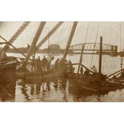 Den Haag 1913 - Fluwelen Burgwal - fotokaart