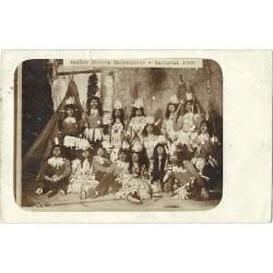 Rotterdam 1906 - Asclub Rottes Mannenkoor Carnaval - fotokaart