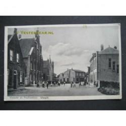 Waspik ca. 1930 - Klooster en Postkantoor
