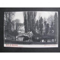 Meerssen ca. 1910 - Park Kasteel Proostdij