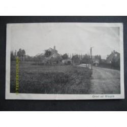 Waspik 1916 - groet uit - dorpsstraat
