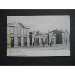 Bergen op Zoom ca. 1915 - Station