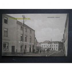 Kerkrade ca. 1920 - Markt - kapper
