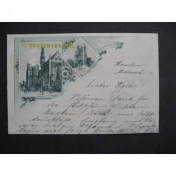 Haarlem 1895 - groeten uit - voorloper