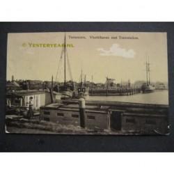 Terneuzen 1929 - Vluchthaven met Tramstation