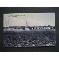 Ede 1912 - panorama met kerk