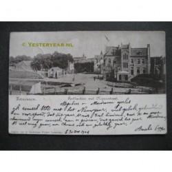 terneuzen 1904 - Postkantoor met Nieuwatraat