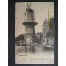 Rotterdam ca. 1915 - Coolvest - molen