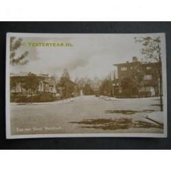 Sas van Gent ca. 1945 - Walstraat - fotokaart