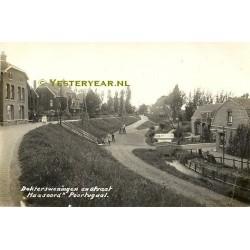 Poortugaal 1917 - dokterswoningen en Maasoord - fotokaart