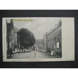 Poortugaal ca. 1915 - kinderen in de dorpsstraat