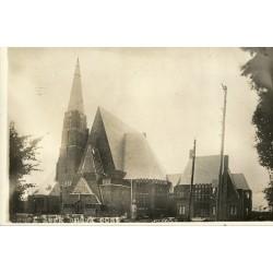 Andijk 1931 - Kerk Andyk oost - fotokaart