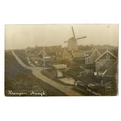 Andijk 1916 - Krimpen - fotokaart