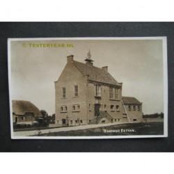 Eethen 1939 - Raadhuis - fotokaart