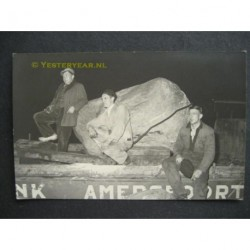 Amersfoort ca. 1935 - vervoer Amersfoortse Kei - fotokaart