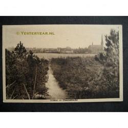 Ossendrecht 1932 - groeten uit - panorama