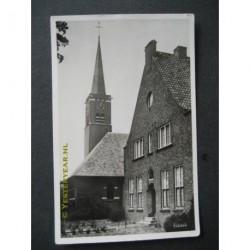 Esbeek 1953 - kerk met pastorie