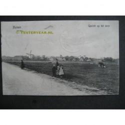 Huizen 1911 - gezicht op het dorp