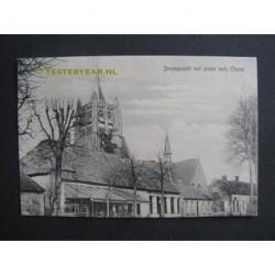 Chaam ca. 1915 - dorpsgezicht met grote kerk