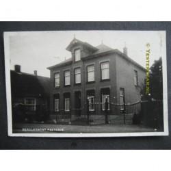 Bergambacht 1931 - pastorie - fotokaart