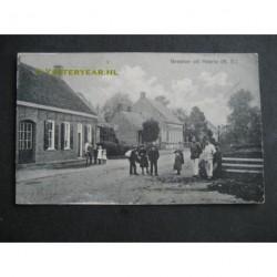 Heerle ca. 1915 - groeten uit- Herelsestraat