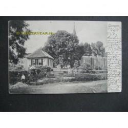 Gameren 1904 - gezicht opraadhuis en kerk