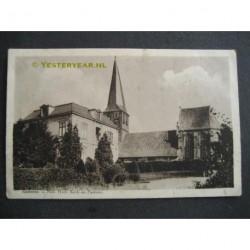 Kesteren ca. 1920 - kerk en pastorie
