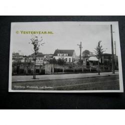 Voorburg 1951 - Westeinde met Station