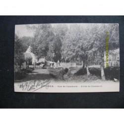 Eijsden 1909 - Zicht te Caastert